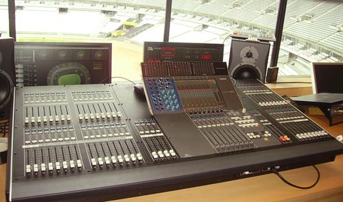 audio en instalaciones deportivas