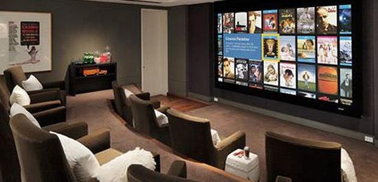 pantallas cine en casa