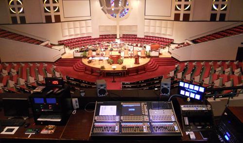 sonido en iglesias