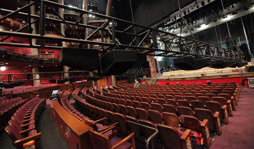sonido para auditorios y teatros